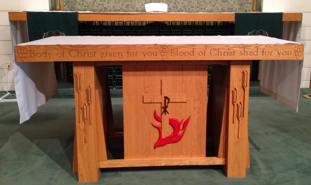 St Peter Lutheran Altar