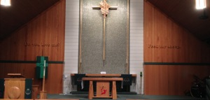 St Peter Lutheran Sanctuary Front
