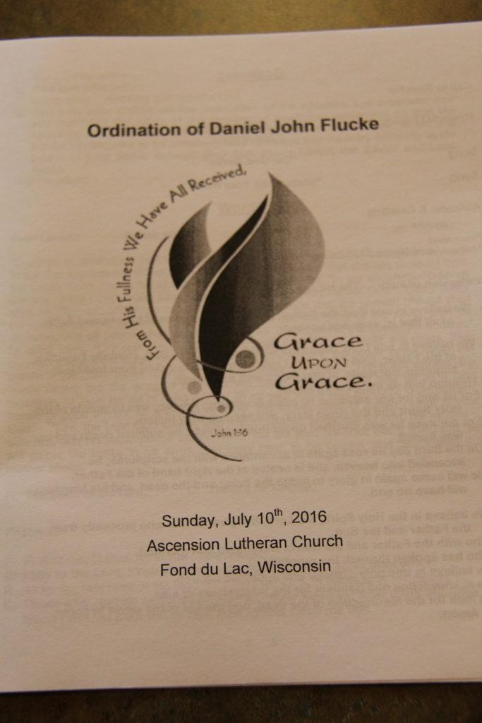 Flucke Ordination Bulletin 1 Cover