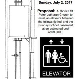 Hospitality and an Elevator