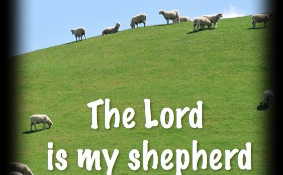 October 15, 2017, Sermon on Psalm 23
