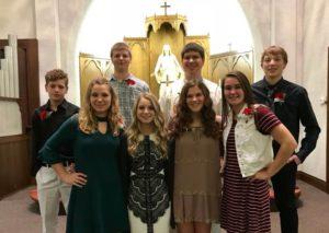 St Peter Lutheran Church Confirmation Class of 2017