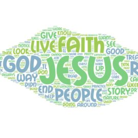 Sermon: Sheep and Goats and Sin and Faith and Jesus