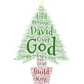 Advent 4 Sermon: David and Mary