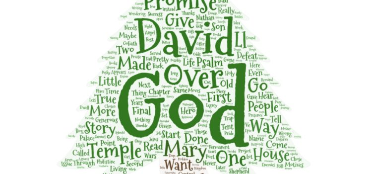 Advent 4 Sermon: David and Mary